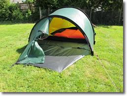 Hilleberg Nammatj 3 GT Tent green at