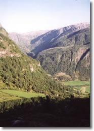 Sweden to Norway Tour 2002 - Bergen to Voss via the Eksingadalen